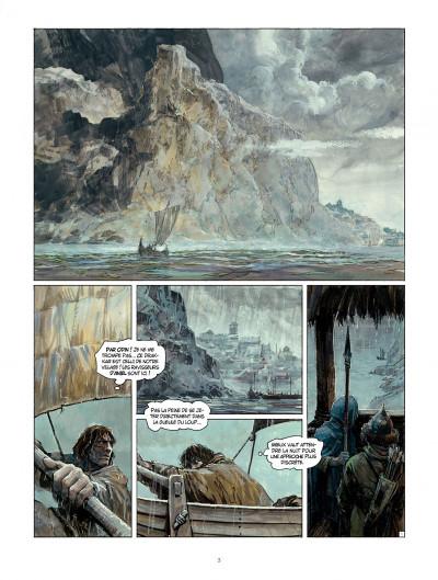 Page 3 Thorgal tome 32 - la bataille d'Asgard