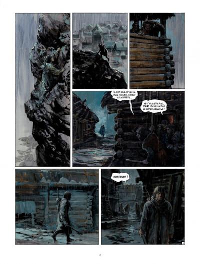 Page 4 Thorgal tome 32 - la bataille d'Asgard
