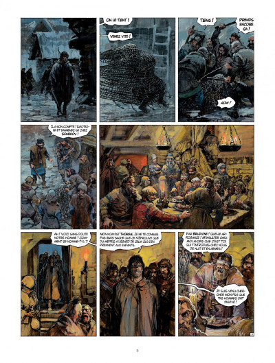 Page 5 Thorgal tome 32 - la bataille d'Asgard
