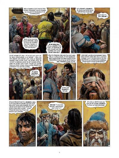 Page 6 Thorgal tome 32 - la bataille d'Asgard