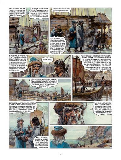 Page 7 Thorgal tome 32 - la bataille d'Asgard
