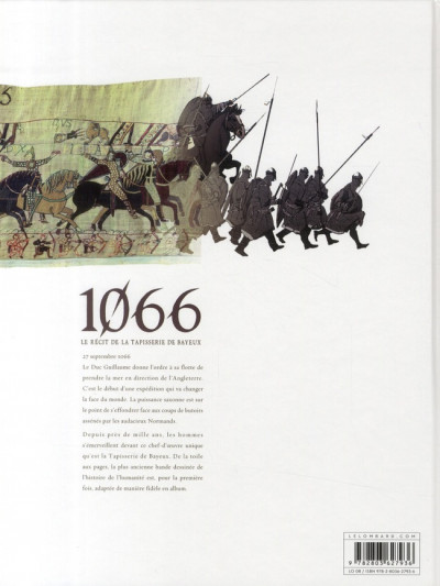 Dos 1066 tome 1 - Guillaume le conquérant