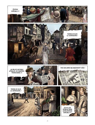 Page 2 les carnets de Darwin tome 2 - la mort d'une bête