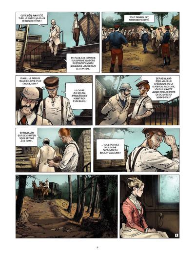 Page 5 les carnets de Darwin tome 2 - la mort d'une bête