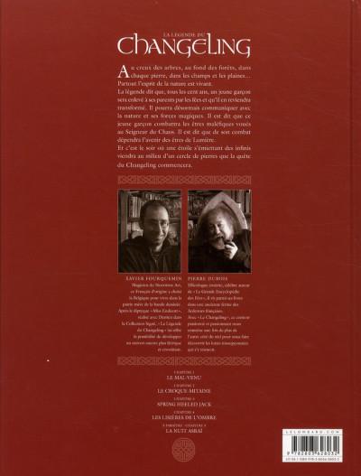 Dos la légende du changeling tome 4 - les lisières de l'ombre