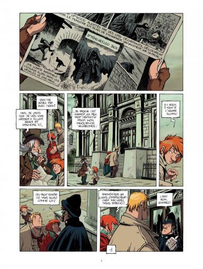 Page 3 la légende du changeling tome 4 - les lisières de l'ombre