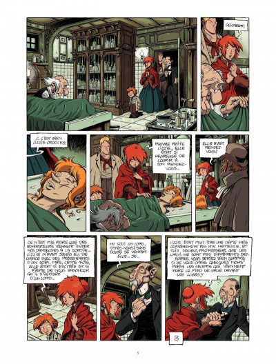 Page 5 la légende du changeling tome 4 - les lisières de l'ombre