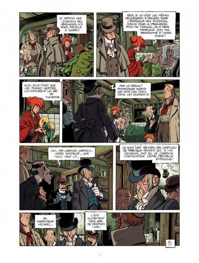 Page 7 la légende du changeling tome 4 - les lisières de l'ombre