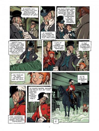 Page 8 la légende du changeling tome 4 - les lisières de l'ombre