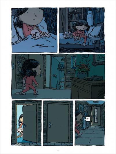 Page 4 l'enfant cachée