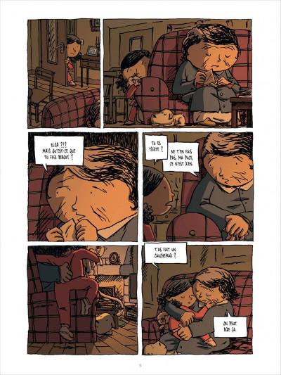 Page 5 l'enfant cachée