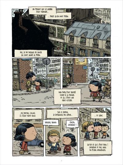 Page 7 l'enfant cachée