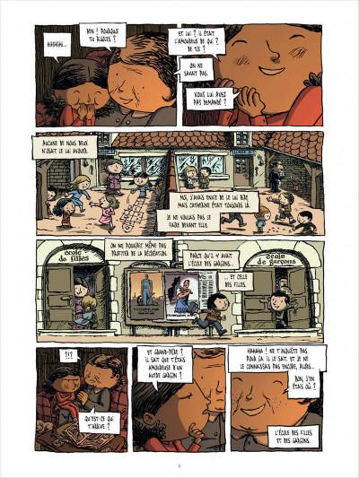 Page 8 l'enfant cachée