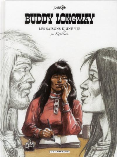Couverture Buddy Longway ; les saisons d'une vie, par Kathleen
