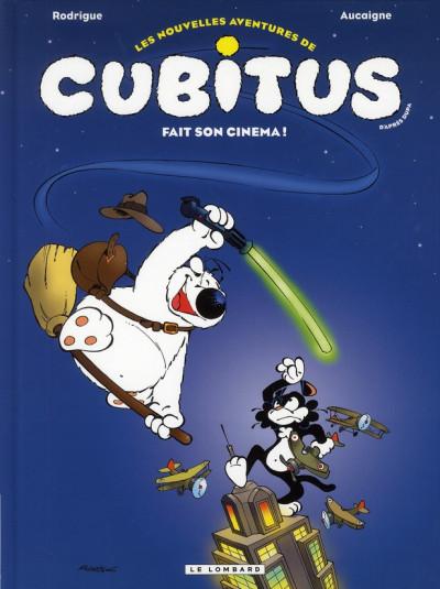 image de les nouvelles aventures de Cubitus ; Cubitus fait son cinéma