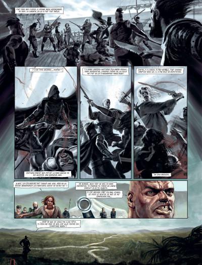 Page 3 le banni tome 2 - la reine pourpre
