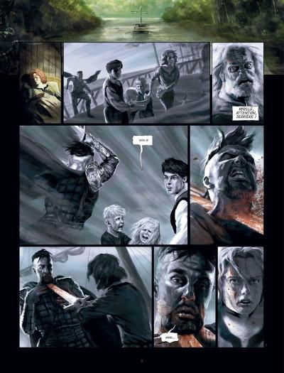 Page 4 le banni tome 2 - la reine pourpre
