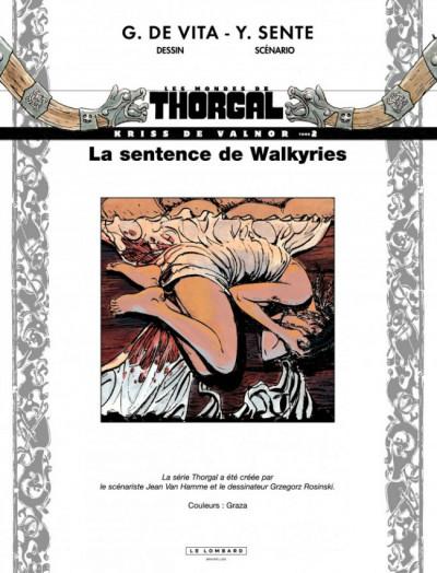 Page 1 Les mondes de Thorgal - Kriss de Valnor tome 2