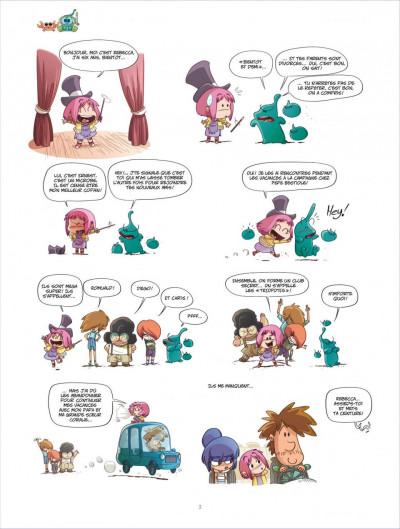 Page 2 ernest et rebecca tome 4 - les pays des cailloux marchent