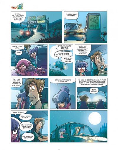Page 8 ernest et rebecca tome 4 - les pays des cailloux marchent