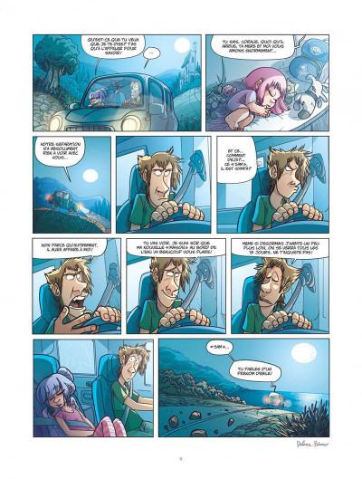 Page 9 ernest et rebecca tome 4 - les pays des cailloux marchent