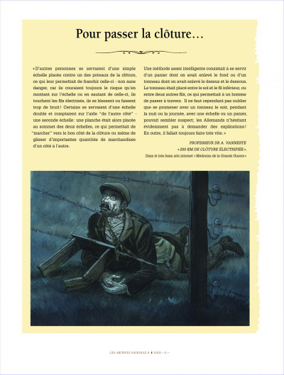 Page 6 Victor Sackville - integrale tome 8