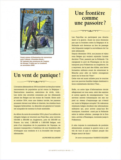 Page 7 Victor Sackville - integrale tome 8