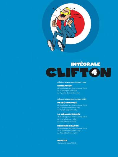 Page 3 Clifton - intégrale tome 4