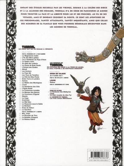 Dos Les mondes de Thorgal - Louve tome 1