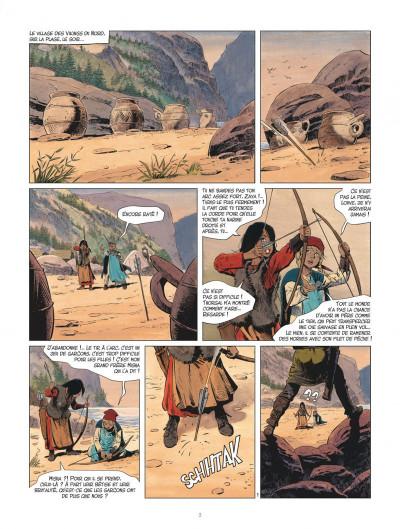 Page 3 Les mondes de Thorgal - Louve tome 1