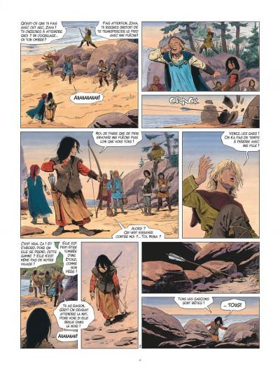 Page 4 Les mondes de Thorgal - Louve tome 1