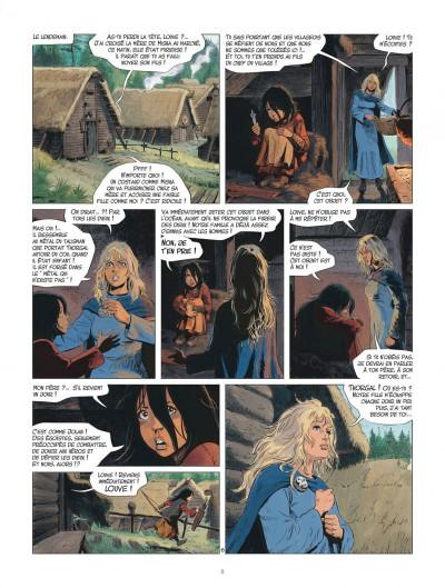 Page 8 Les mondes de Thorgal - Louve tome 1