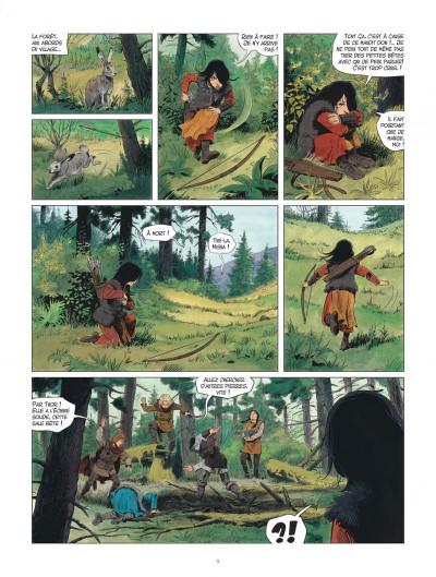 Page 9 Les mondes de Thorgal - Louve tome 1