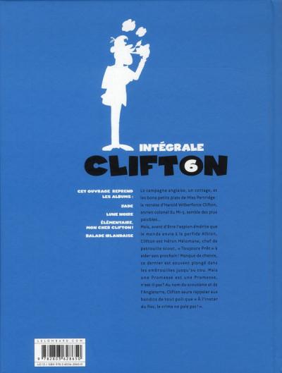 Dos Clifton ; INTEGRALE VOL.6
