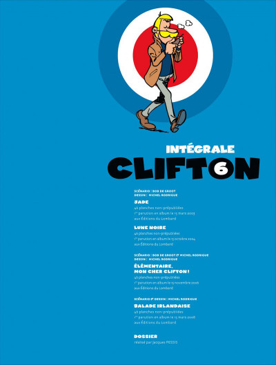 Page 3 Clifton ; INTEGRALE VOL.6