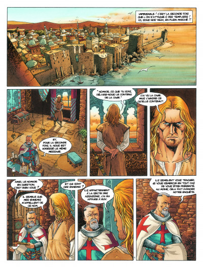 Page 1 Croisade tome 6 - Sybille, jadis