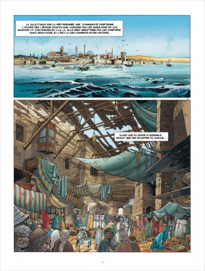 Page 3 Croisade tome 6 - Sybille, jadis