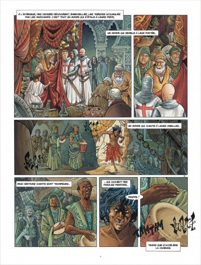Page 4 Croisade tome 6 - Sybille, jadis
