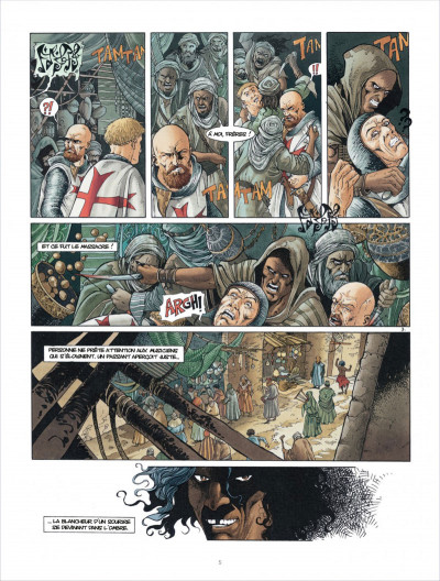 Page 5 Croisade tome 6 - Sybille, jadis