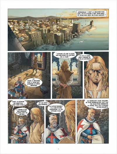 Page 6 Croisade tome 6 - Sybille, jadis