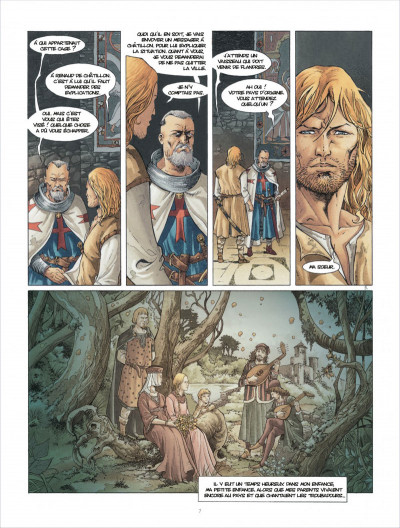 Page 7 Croisade tome 6 - Sybille, jadis