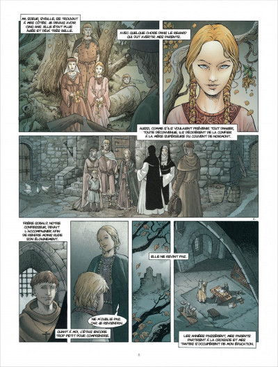 Page 8 Croisade tome 6 - Sybille, jadis