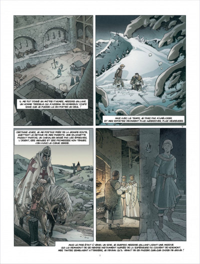 Page 9 Croisade tome 6 - Sybille, jadis