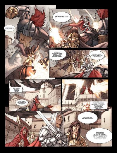 Page 3 turo tome 2 - le coeur d'hélos