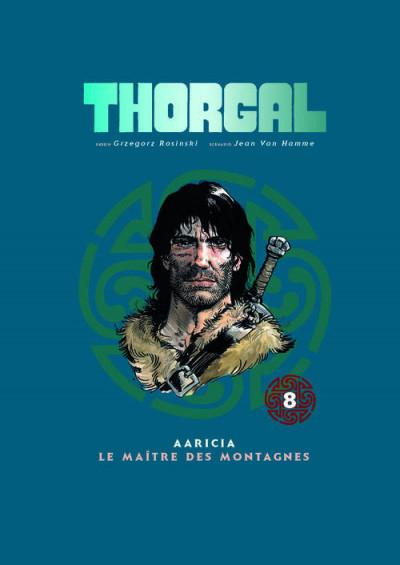 Couverture Thorgal - album double tome 8 - Aaricia - le maitre des montagnes