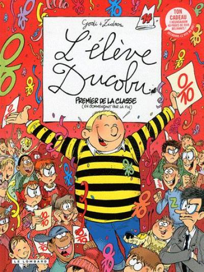 Couverture l'élève Ducobu tome 14 - premier de la classe (en commençant par la fin)