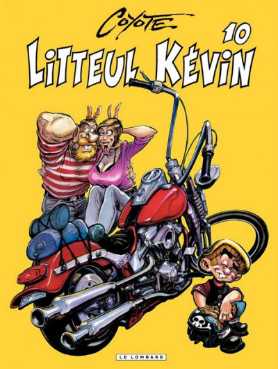 Couverture Litteul Kevin tome 10 collector