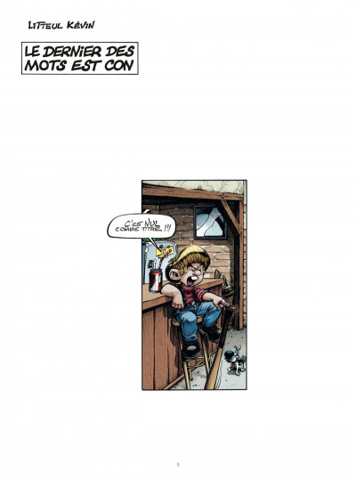 Page 2 Litteul Kevin tome 10 collector