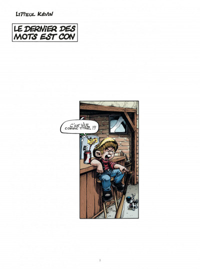 Page 3 Litteul Kevin tome 10 collector