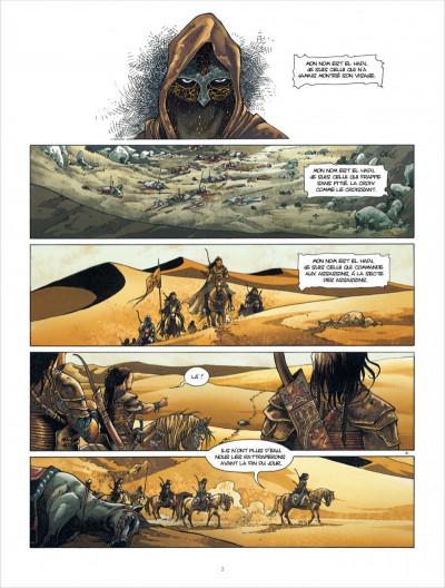 Page 3 croisade T.5 - Gauthier de Flandre